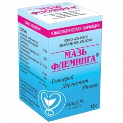 Мазь Флеминга по цене от 317,10 рублей, купить в аптеках Таганрога, мазь 25 г №1 Не указано (Мазь Флеминга)